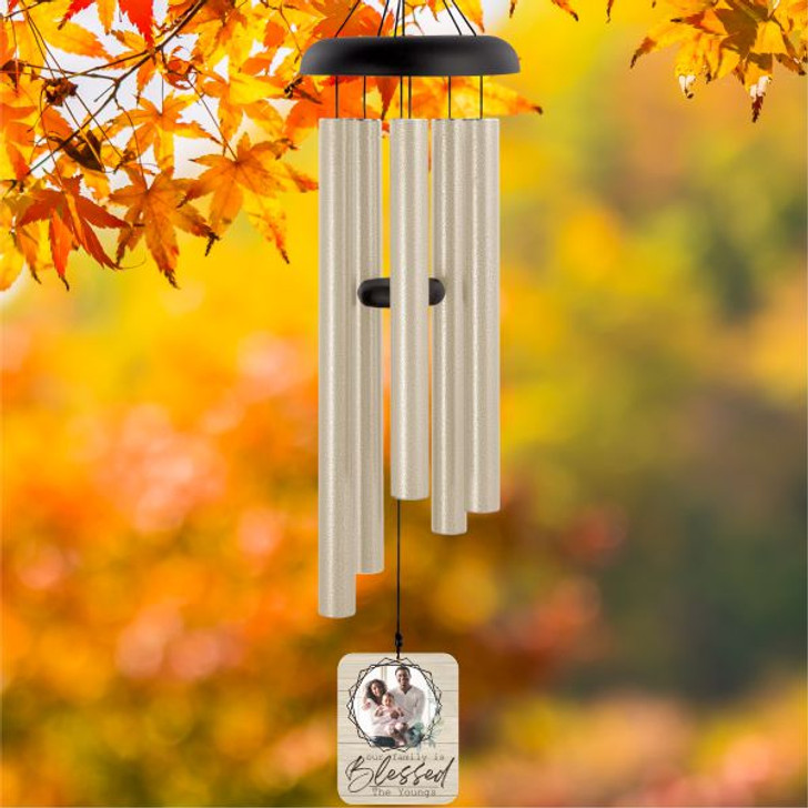 Blessed Family Wind Chime