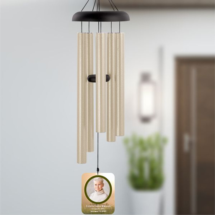 Memory of Portrait Personalized Wind Chime