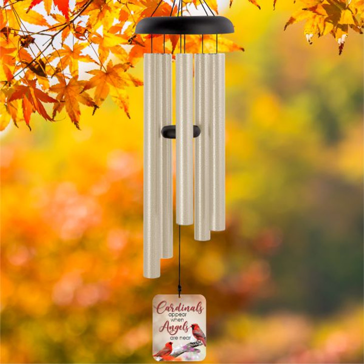 Cardinal Appear Personalized Wind Chime