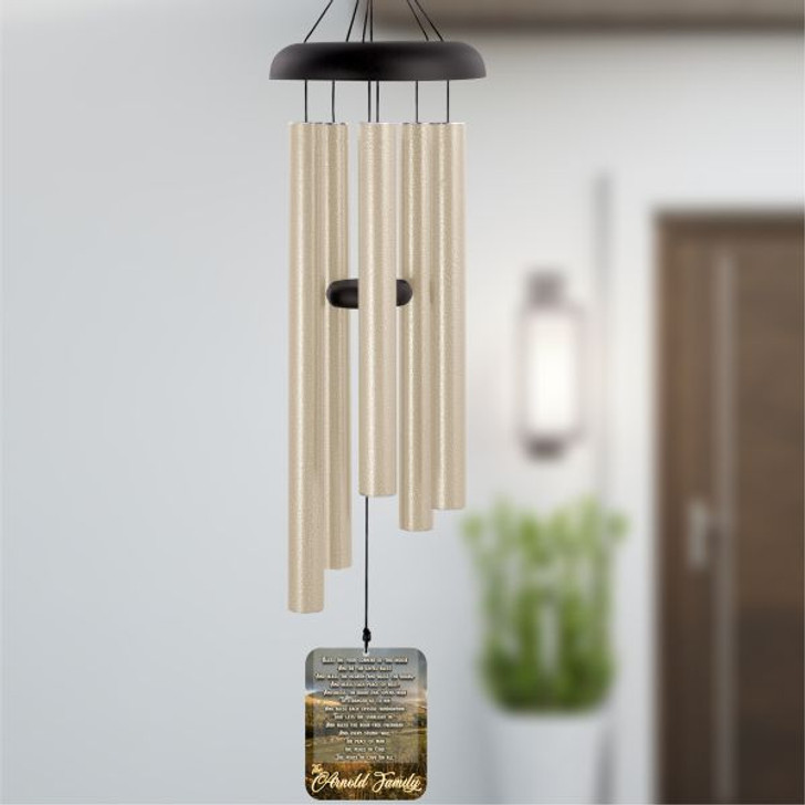 Bless This House Wind Chime