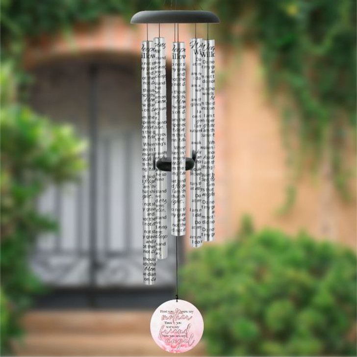 My Mother, My Angel memorial wind chime