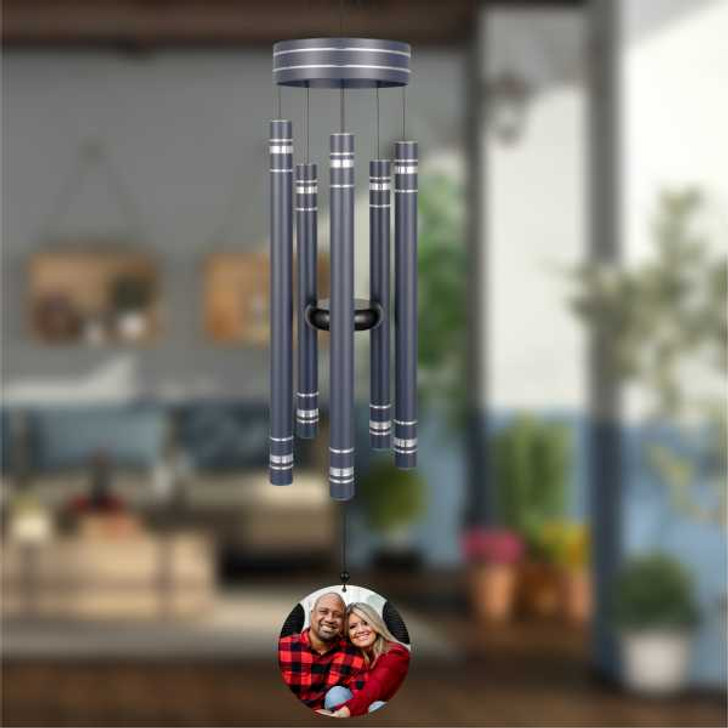 personalized wind chimes are a great family gift