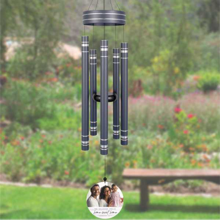 Personalized home sweet home wind  chime