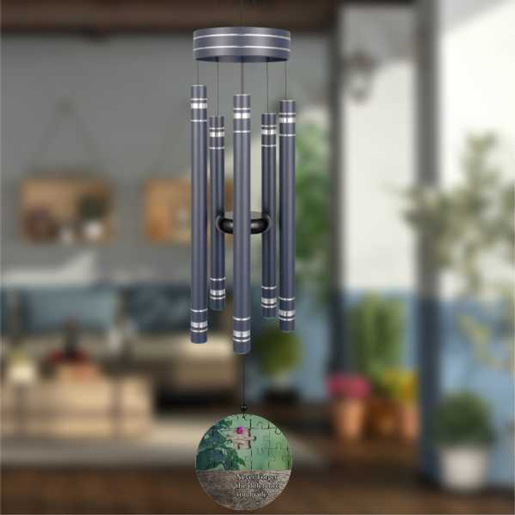 You made a difference retirement wind chime