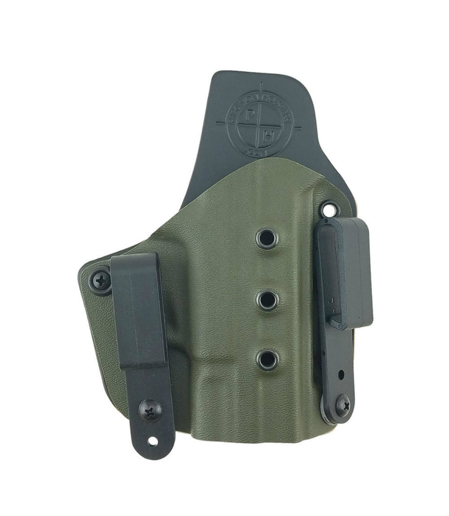 Ultra Carry Holster IWB with OD Green Color Kydex