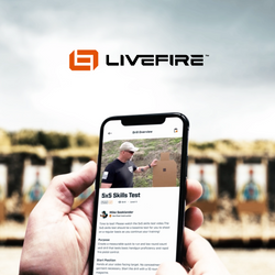 Train with Professionals on the LiveFire app