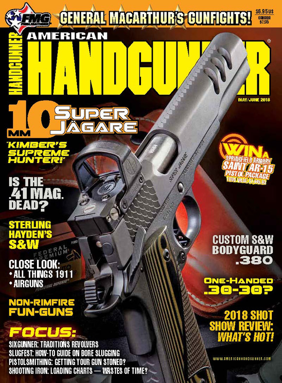 """American HandGunner: """"IN The Middle"""" by Massad Ayoob - Precision Holsters Custom"""