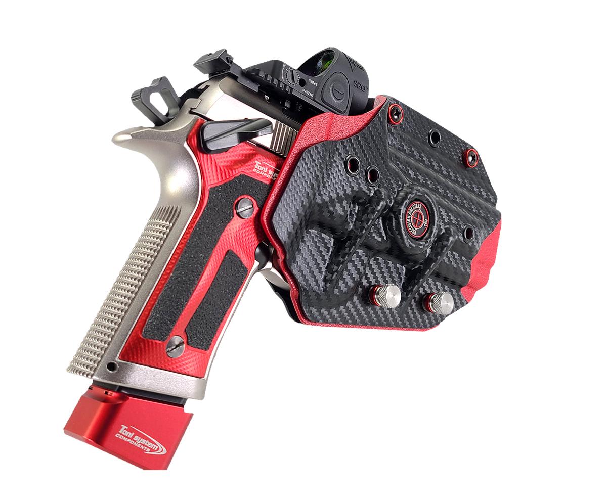 Best #uspsa holster, boss hanger, Best competition holster,  berretta 92 holster