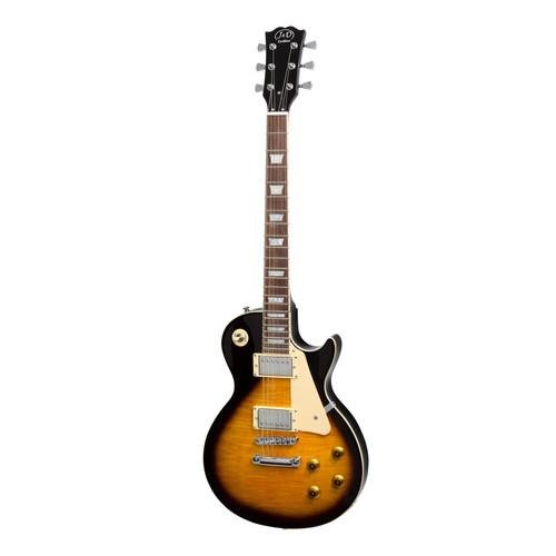 J&D Luthiers LP-Style Electric Guitar (Vintage Sunburst)