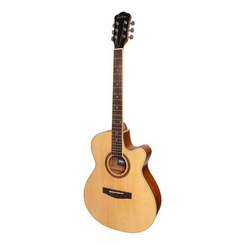 Martinez '41 Series' Folk Size Cutaway Acoustic-Electric Guitar (Spruce/Rosewood)