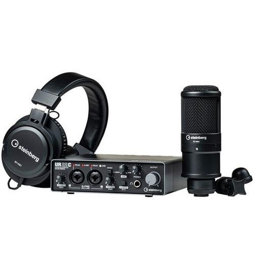 Steinburg UR22C Recording Pack