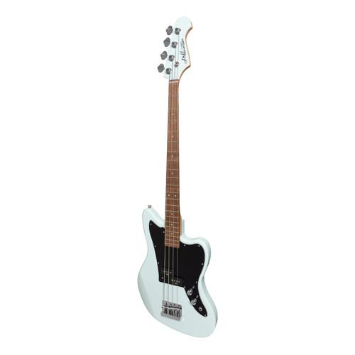 J&D Luthiers 4-String JM-Style Electric Bass Guitar (Light Blue)