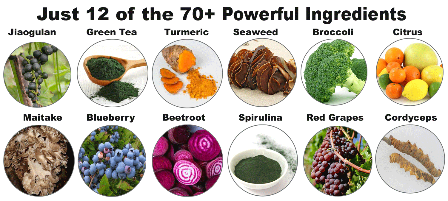Some of the Powerful Ingredients