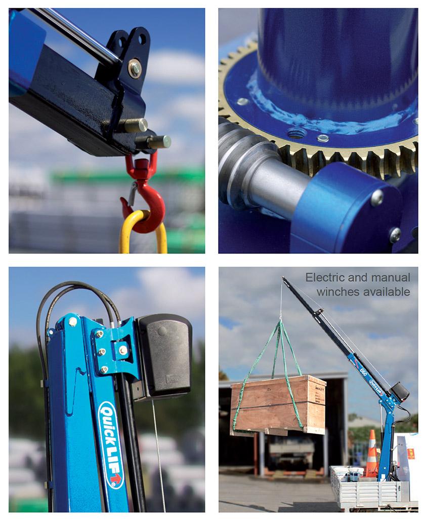 QuickLift Hydraulic Crane