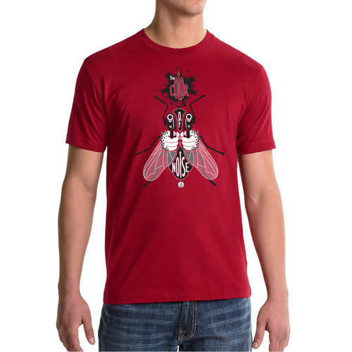"The ""FLY"" Men's T-shirt RED SERIES"