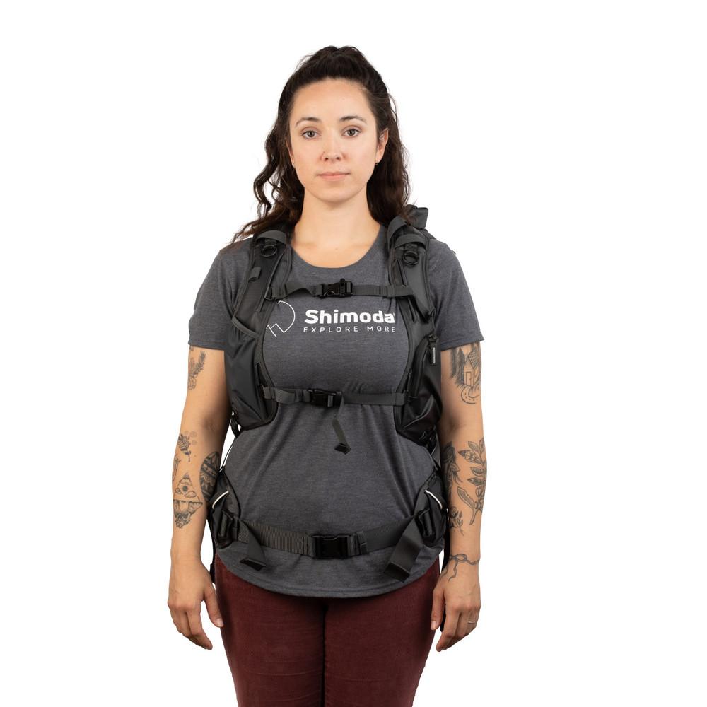 Shimoda Shoulder Strap - Women's Tech - Black