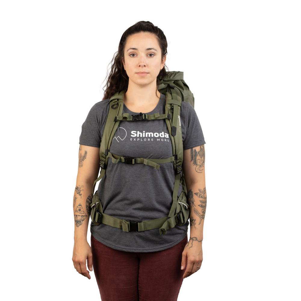 Shimoda Shoulder Strap - Women's Simple Petite - Army Green