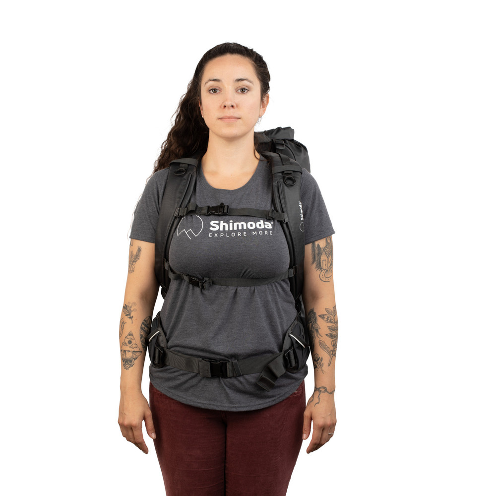 Shimoda Shoulder Strap - Women's Simple - Black