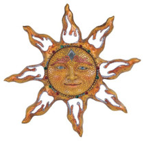 Sun Celestial Wall Art Indoor Outdoor Decoration