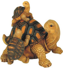 Family of Turtles Garden Decoration Collectible Figure Statue Model