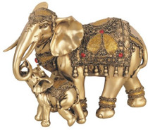 Thai Elephant Buddha Buddhist Collectible Statue Figurine Decoration