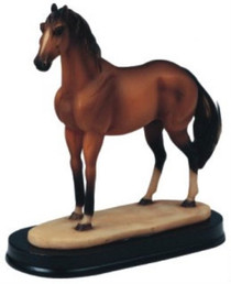 Horses Collection Brown Horse Figurine Decoration Home Decor Collectible