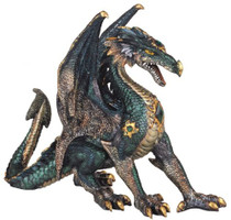 Dragon Collection Fantasy Figurine Decoration Collectible Statue Decor