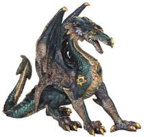 Dragon Collection Fantasy Figurine Decoration Collectible Statue Decor