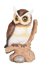 "6 3/4"" Height Owl on Bench for House and Kitchen Decoration and Display"