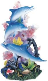Marine Life Dolphin Design Figurine Statue Decoration Decor Collection