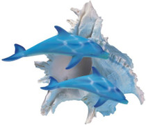 Marine Life Dolphin with Seashell Design Figure Decoration Collection 1