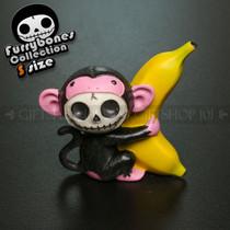 Furrybones Black Munky USF-YT-8145