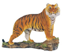 Bengal Tiger Collectible Wild Cat Animal Decoration Figurine Statue - 19712
