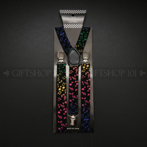 Suspenders Elastic - Color Note / Black