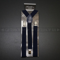 Suspenders Elastic - Navy Blue