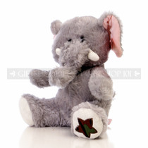 "10"" Violet Wild Soft Plush Toy Stuffed Animal - Elephant - Image 2"