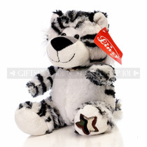 "10"" Violet Wild Soft Plush Toy Stuffed Animal - White Tiger - Image 2"