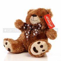 "9.5"" Caramel Bear Soft Plush Toy Stuffed Animal - Brown - Image 2"