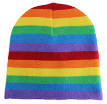 Winter Beanie - Rainbow