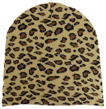 Winter Beanie - Leopard