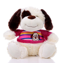 "11"" Max Dog Plush with Shirt - Pink (Front)"
