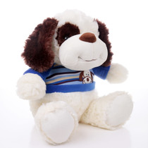 "11"" Max Dog Plush with Shirt - Blue (Side)"