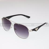 Aviator Shape Khan Design Fashion Sunglasses 5N011 - Silver