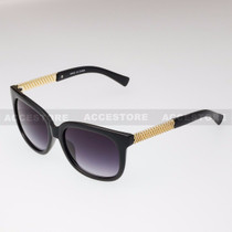 Classic Shape Elegant Fashion Sunglasses 80605 - Black