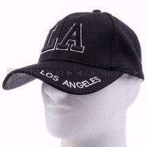 Breathable Baseball Caps Hat 9630 Black - Los Angeles
