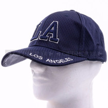 Breathable Baseball Caps Hat 9630 Navy Blue - Los Angeles