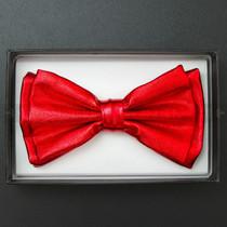 Bow Tie - Metallic Red