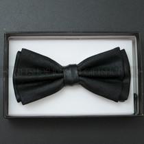 Bow Tie - Metallic Black