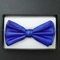 Bow Tie - Metallic Blue