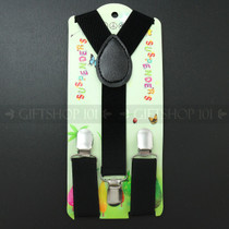 Kid's Suspenders - Black